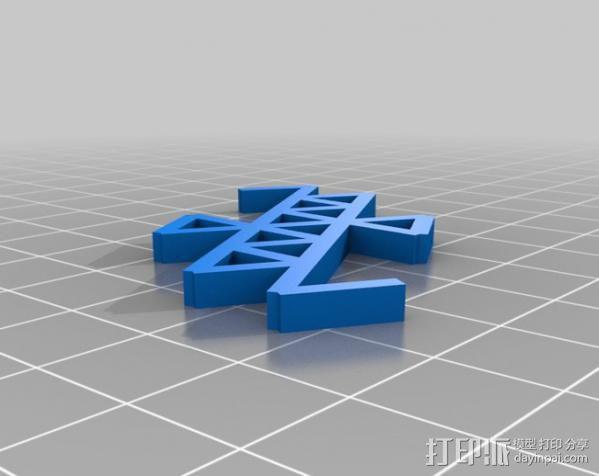 分形图形 龙  3D模型  图3