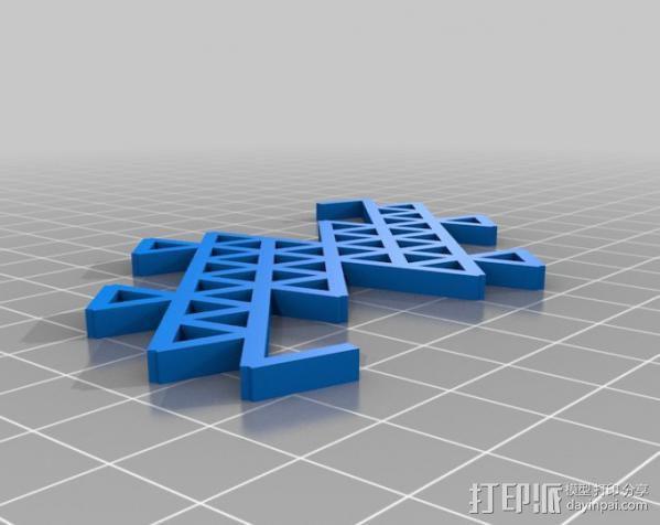 分形图形 龙  3D模型  图5