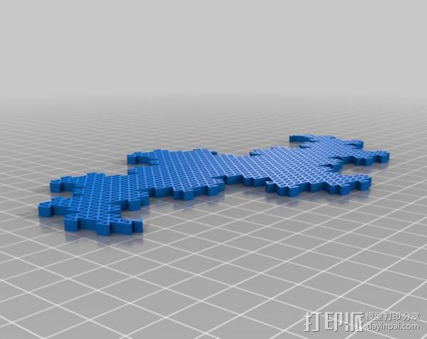 分形图形 龙  3D模型  图8