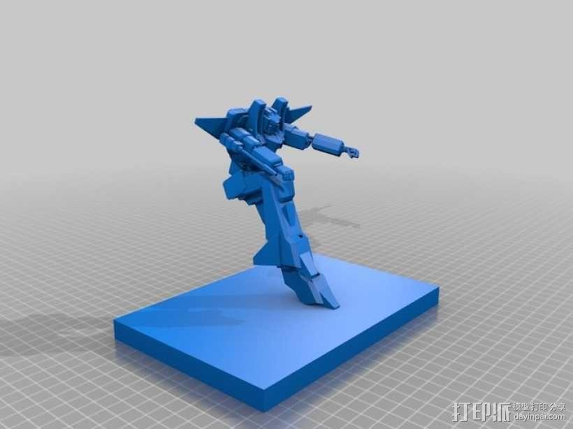 《变形金刚》红蜘蛛 3D模型  图1