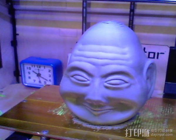 复活节彩蛋 长者头像 3D模型  图3