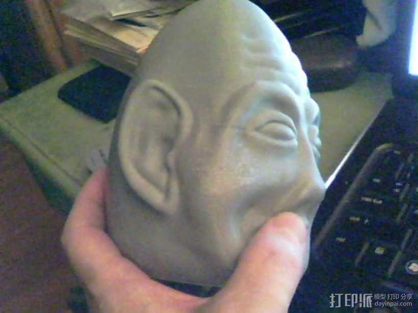 复活节彩蛋 长者头像 3D模型  图6