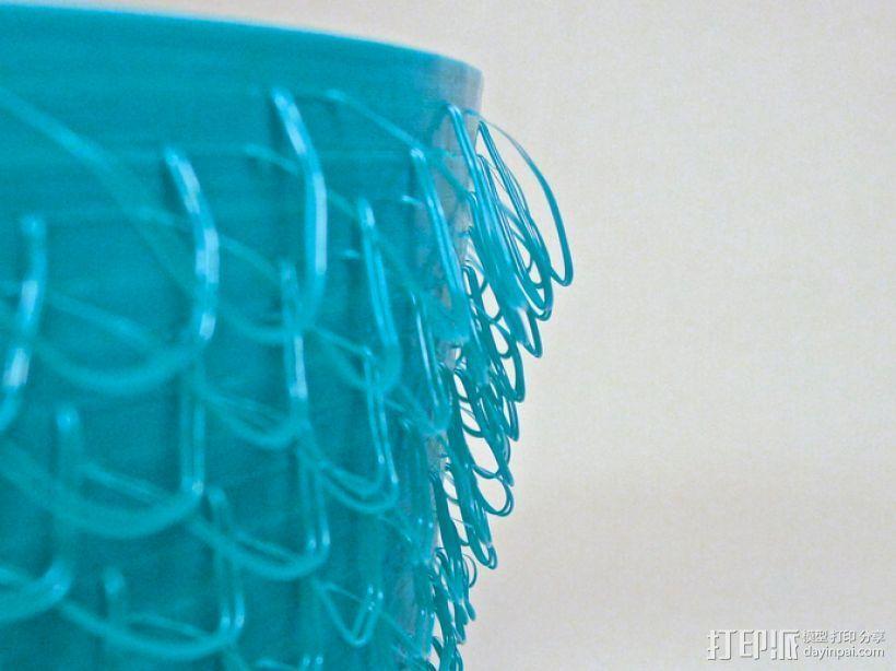 绒线花瓶 3D模型  图3