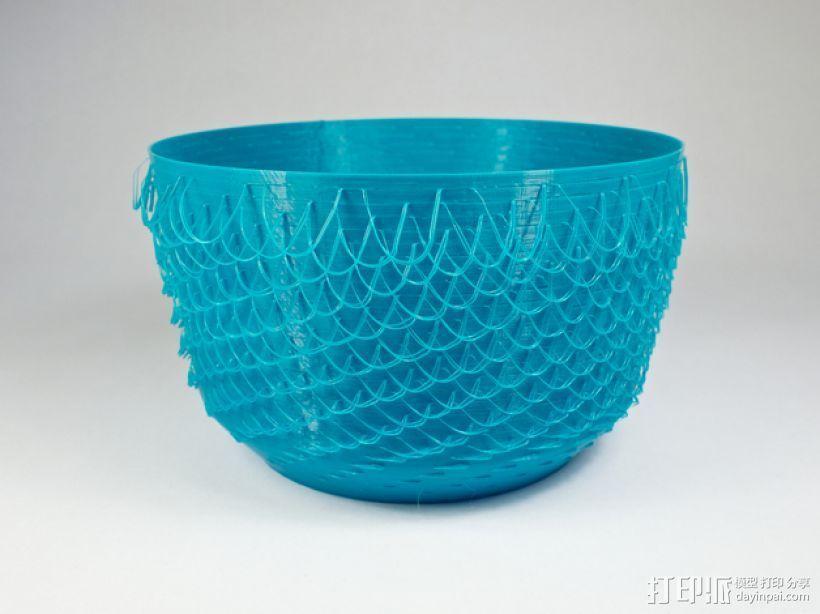 绒线花瓶 3D模型  图2
