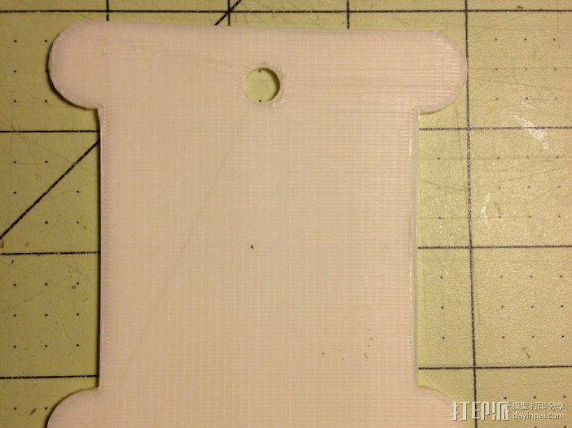 丝带 线轴 3D模型  图3