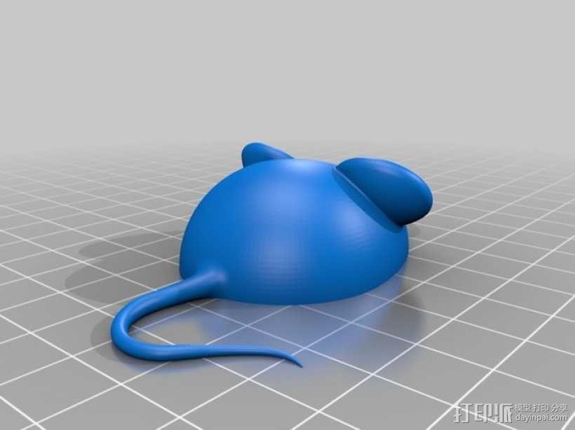 3D老鼠 3D模型  图1