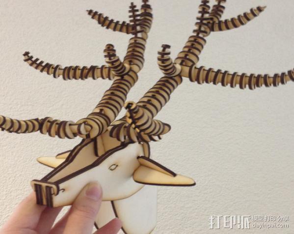 公鹿 3D模型  图9
