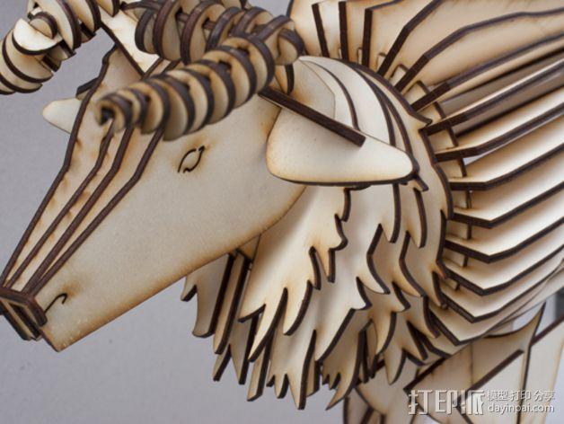 公鹿 3D模型  图16