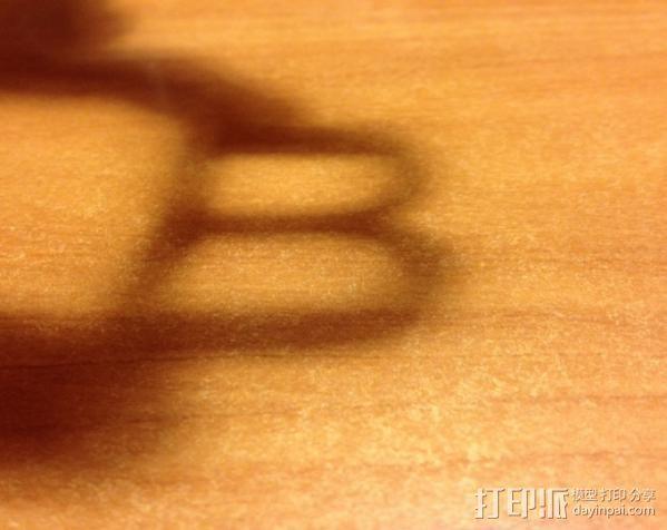 光与影的交替 Shadow Cube 3D模型  图3