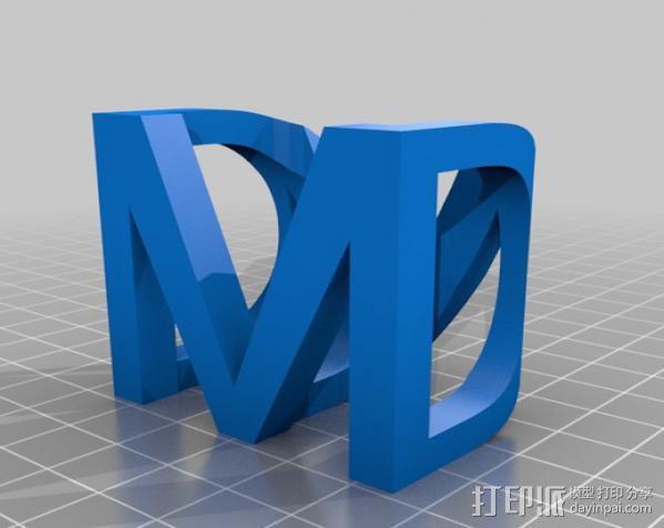 光与影的交替 Shadow Cube 3D模型  图5