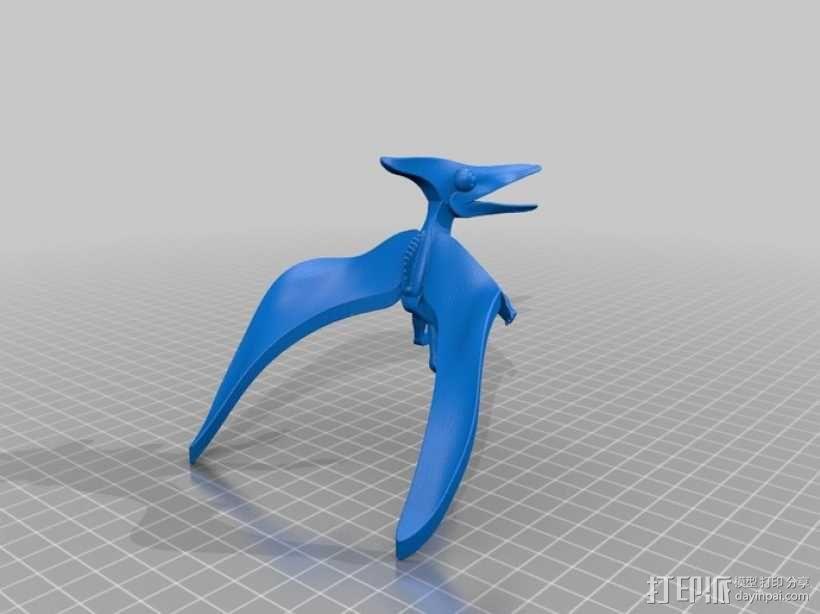 翼龙 3D模型  图1