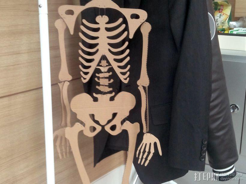 骨架 3D模型  图3