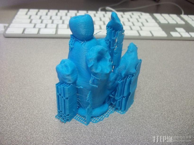 吹制玻璃  3D模型  图4