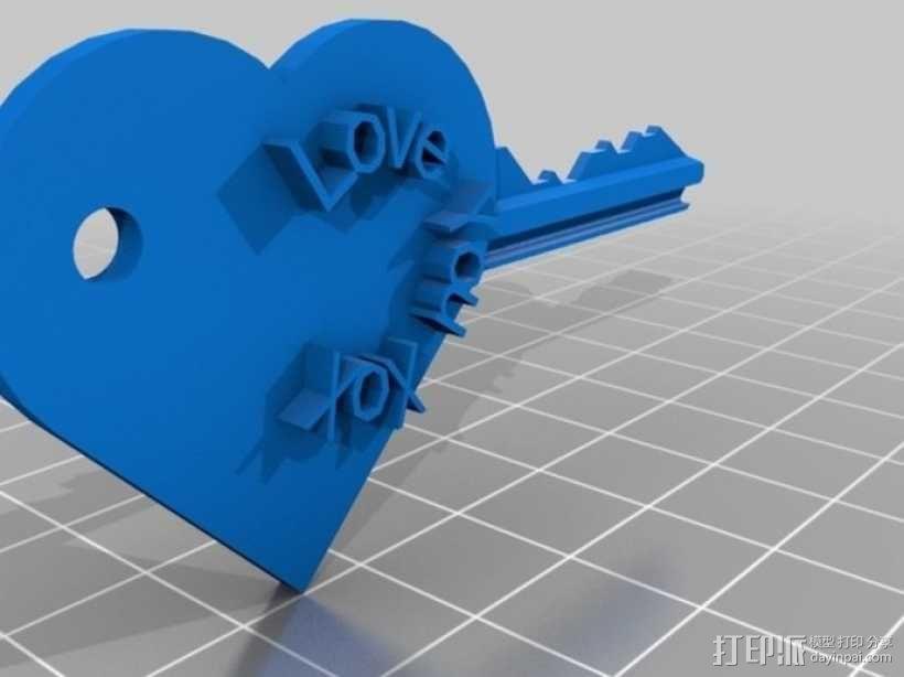 键盘吉他  3D模型  图4