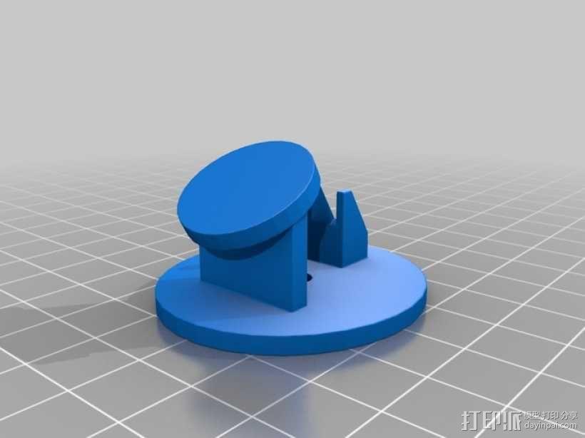 月亮先生 小夜灯 3D模型  图5