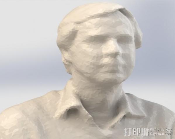 自画头像 3D模型  图3