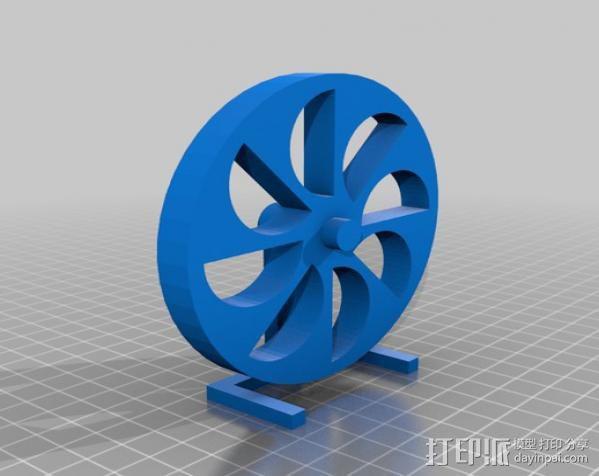 定制化永动轮 3D模型  图3