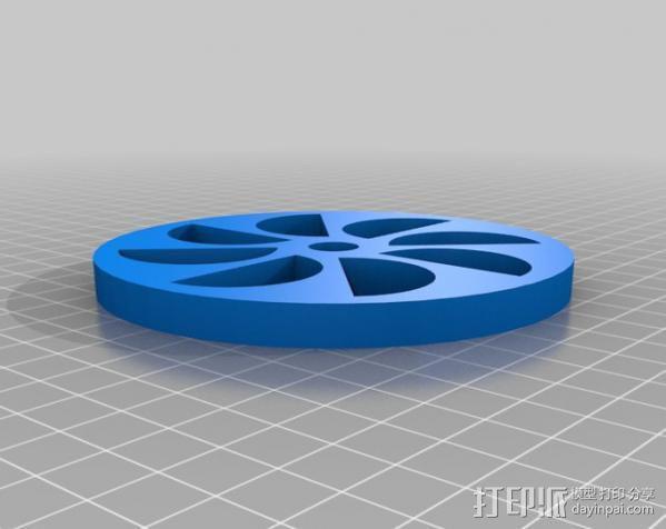 定制化永动轮 3D模型  图6