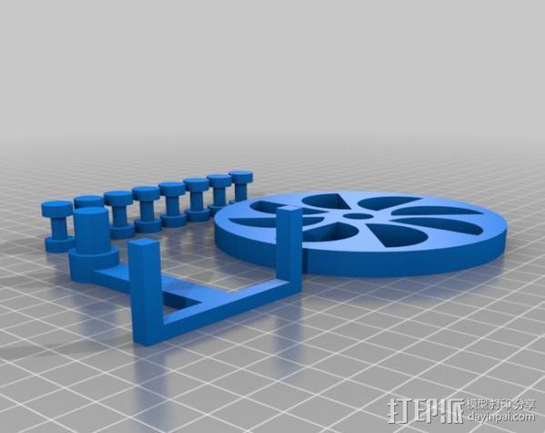 定制化永动轮 3D模型  图5