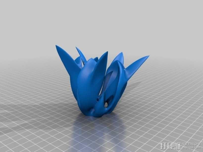 鸡蛋花 素馨 3D模型  图1