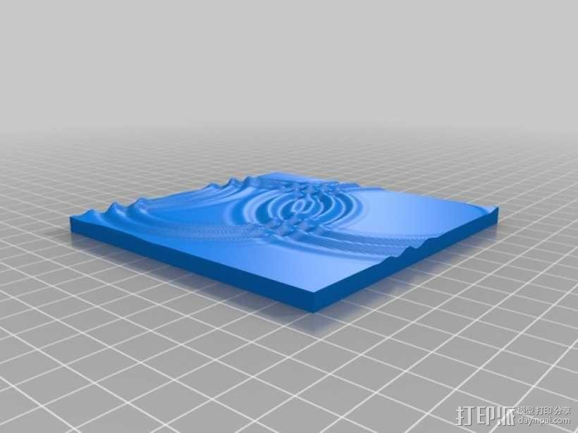 波纹 3D模型  图8
