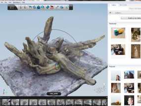 浮木  3D模型