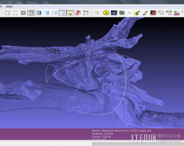 浮木  3D模型  图3