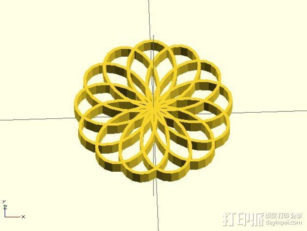 定制化波形发生器 3D模型  图2