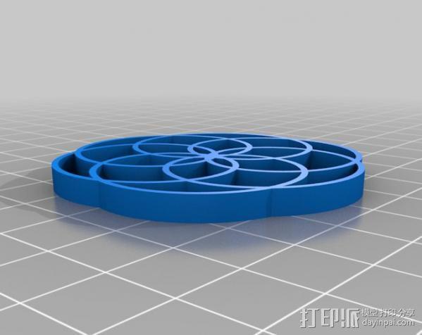 定制化波形发生器 3D模型  图6