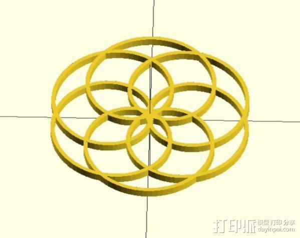 定制化波形发生器 3D模型  图5