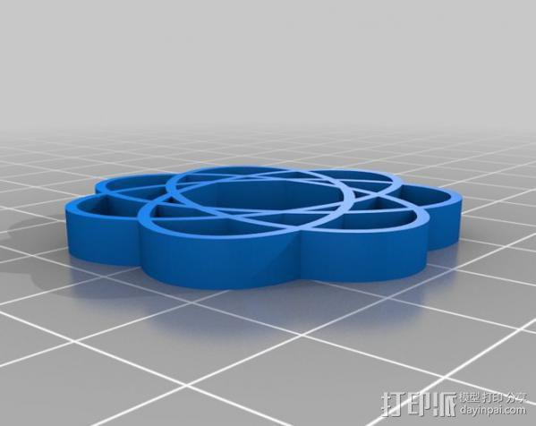 定制化波形发生器 3D模型  图8