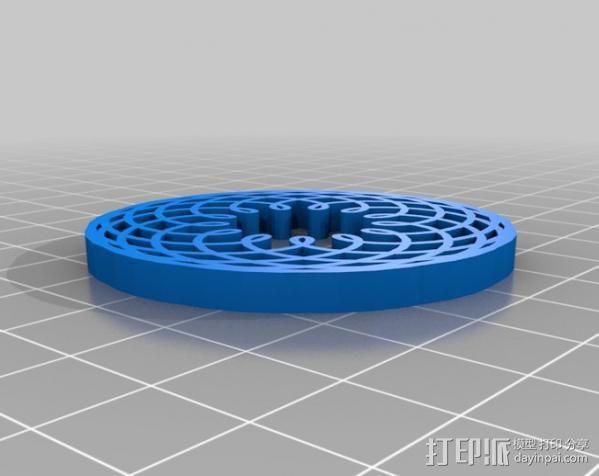 定制化波形发生器 3D模型  图7