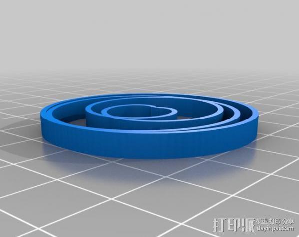 定制化波形发生器 3D模型  图9
