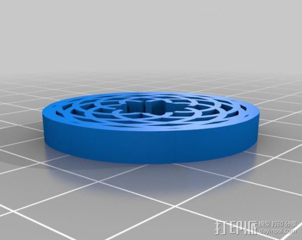 定制化波形发生器 3D模型  图10