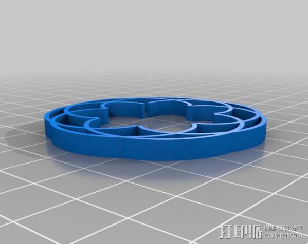 定制化波形发生器 3D模型  图11