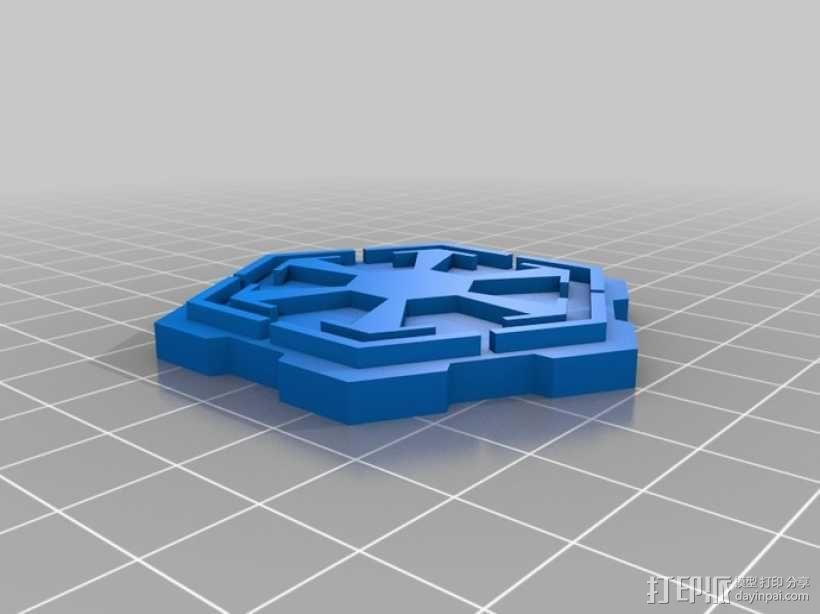 《星球大战》西斯标志 3D模型  图1