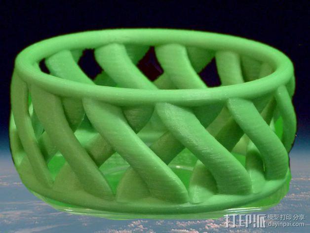 环形手链 3D模型  图1