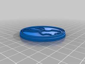 游戏《时间领主》Gallifreyan硬币 3D模型