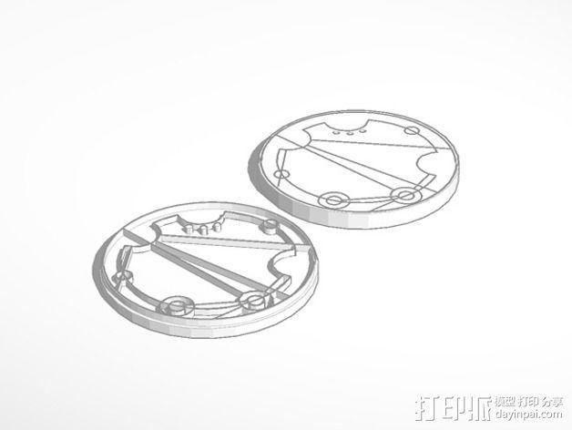 游戏《时间领主》Gallifreyan硬币 3D模型  图3