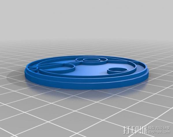 游戏《时间领主》Gallifreyan硬币 3D模型  图8