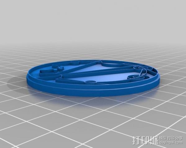 游戏《时间领主》Gallifreyan硬币 3D模型  图11