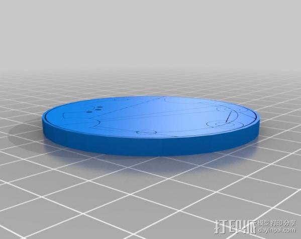 游戏《时间领主》Gallifreyan硬币 3D模型  图10