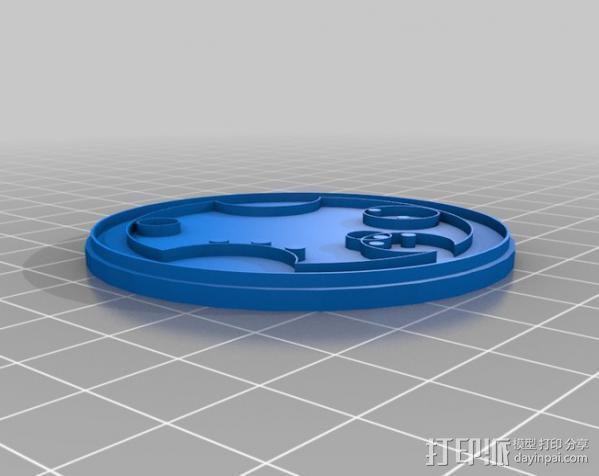 游戏《时间领主》Gallifreyan硬币 3D模型  图13