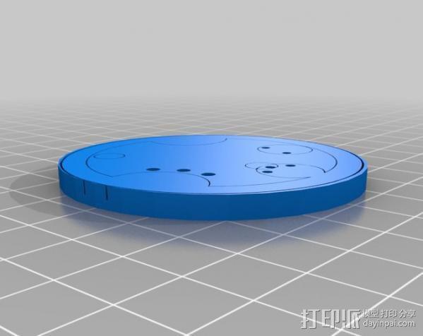 游戏《时间领主》Gallifreyan硬币 3D模型  图12