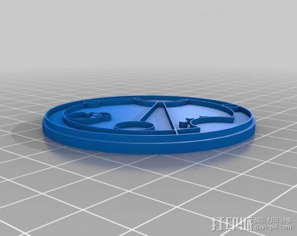 游戏《时间领主》Gallifreyan硬币 3D模型  图18