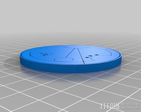 游戏《时间领主》Gallifreyan硬币 3D模型  图17