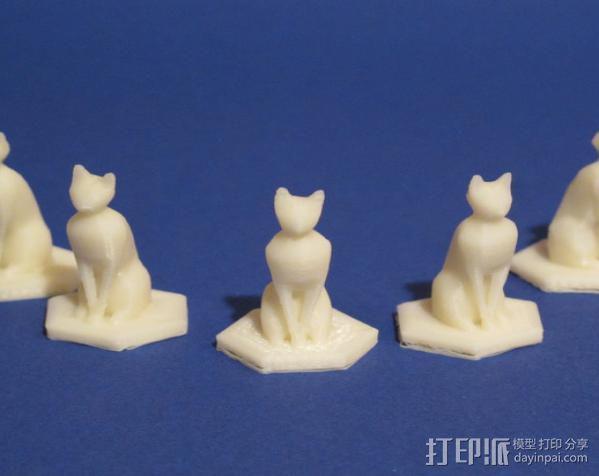 部长的猫 3D模型  图2