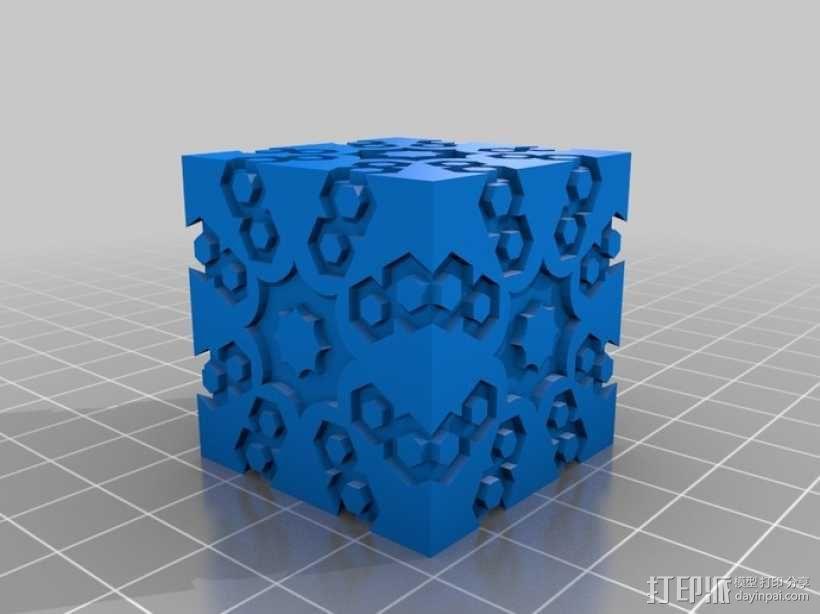 立方体 球体 3D模型  图4
