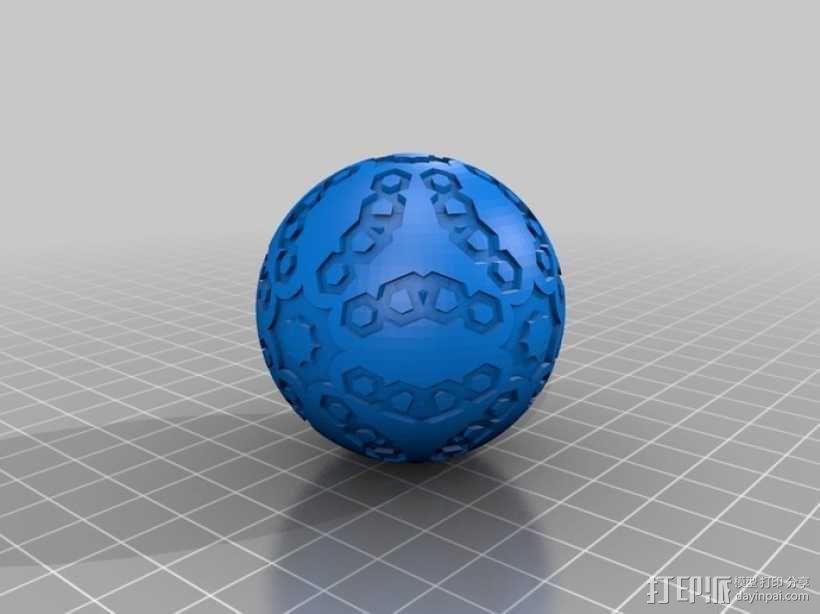 立方体 球体 3D模型  图5