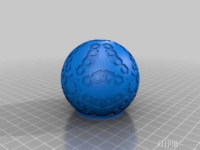 立方体 球体 3D模型  图6